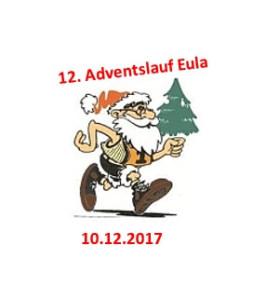 Adventslauf Eula 2017